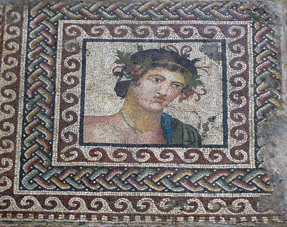 Roman-era mosaic from Amisos